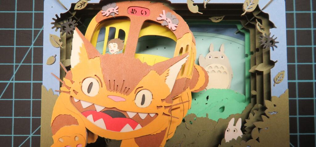 PAPER THEATER(ペーパーシアター):メイを迎えに(ネコバス)