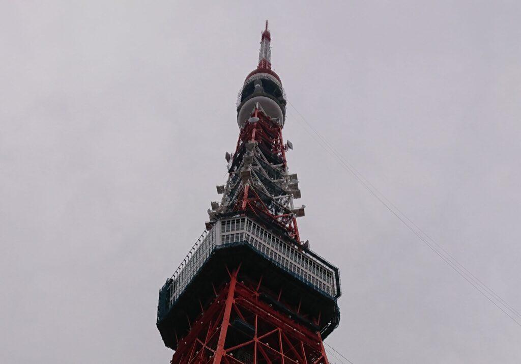 東京タワーを登ったわー(2018年5月、東京観光記事)