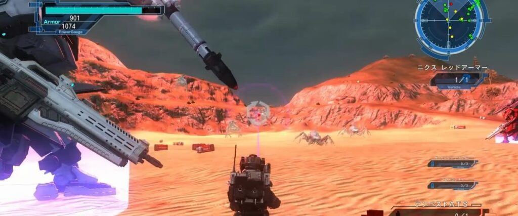 地球防衛軍5 DLC2でのエアレイダー用稼ぎ