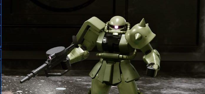 New GUNDAM BREAKER~ザクⅡ~