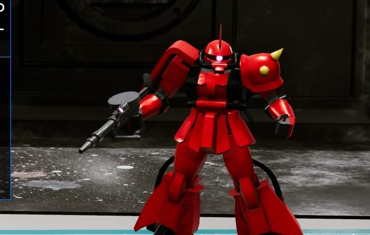 New GUNDAM BREAKER~高機動型ザク後期型 ジョニー・ライデン専用~