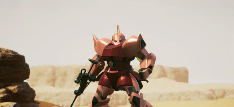 New GUNDAM BREAKER~ゲルググ(指揮官用)シャア・アズナブル専用~
